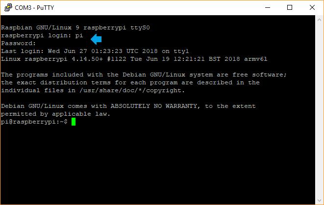 Remote Raspberry Pi Serial